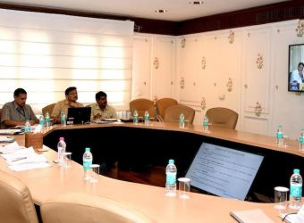 cm raj vikas meeting video conferencing