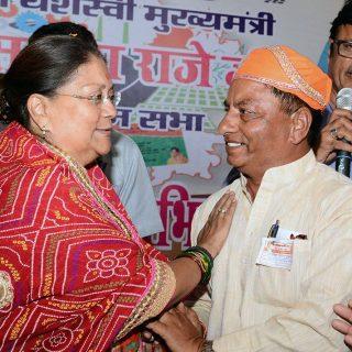 बिजयनगर पालिका उपाध्यक्ष भाजपा में शामिल, मुख्यमंत्री ने माला पहनाकर स्वागत किया