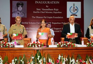 cm inaugural function scholarship scheme for children of rajasthan police personnel CMA_7729