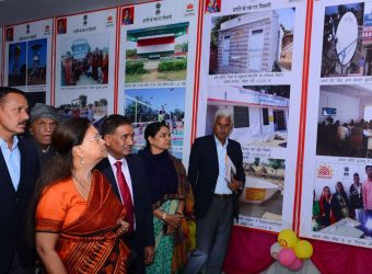 cm observes development exhibition in pilani rajasthan CMA_0707