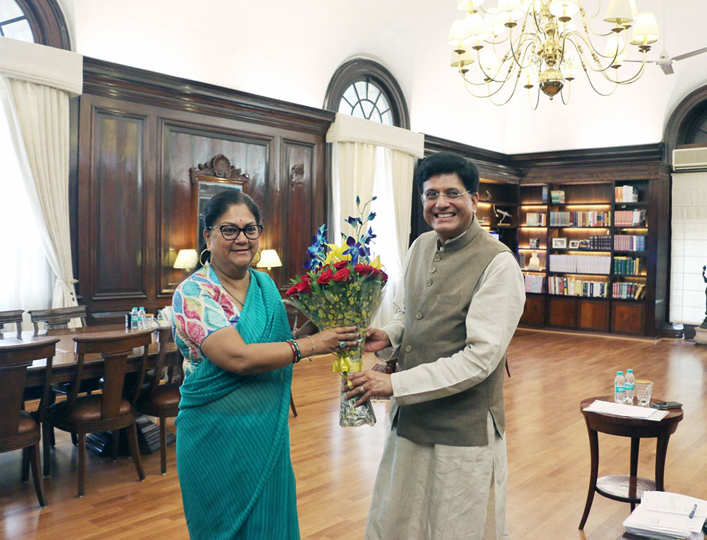 vasundhara raje union finance minister piyush goyal 7681 01