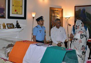 vasundhara raje atal bihari vajpayee tributes homage new delhi 6