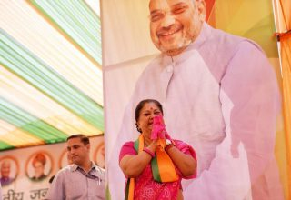 cm in election rally