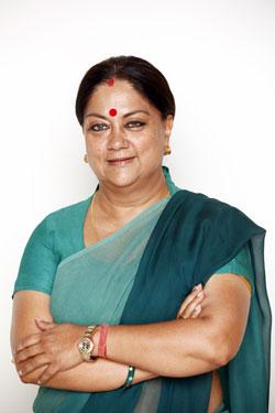exemplary life of Smt. Vasundhara Raje