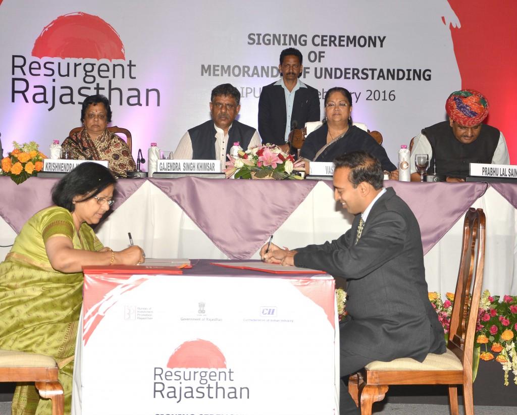 Vasundhara Raje - Rajasthan team doing hard work, resurgent rajasthan 2