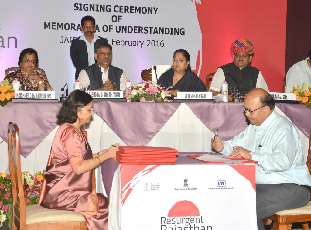 Vasundhara Raje - Rajasthan team doing hard work, resurgent rajasthan 8