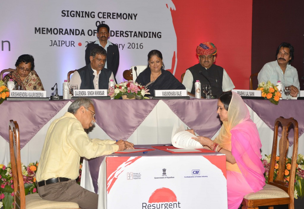 Vasundhara Raje - Rajasthan team doing hard work, resurgent rajasthan 10