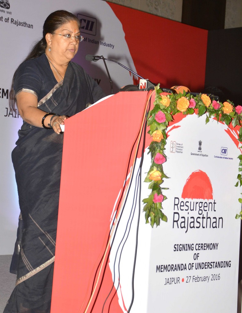 Vasundhara Raje - Rajasthan team doing hard work, resurgent rajasthan 17
