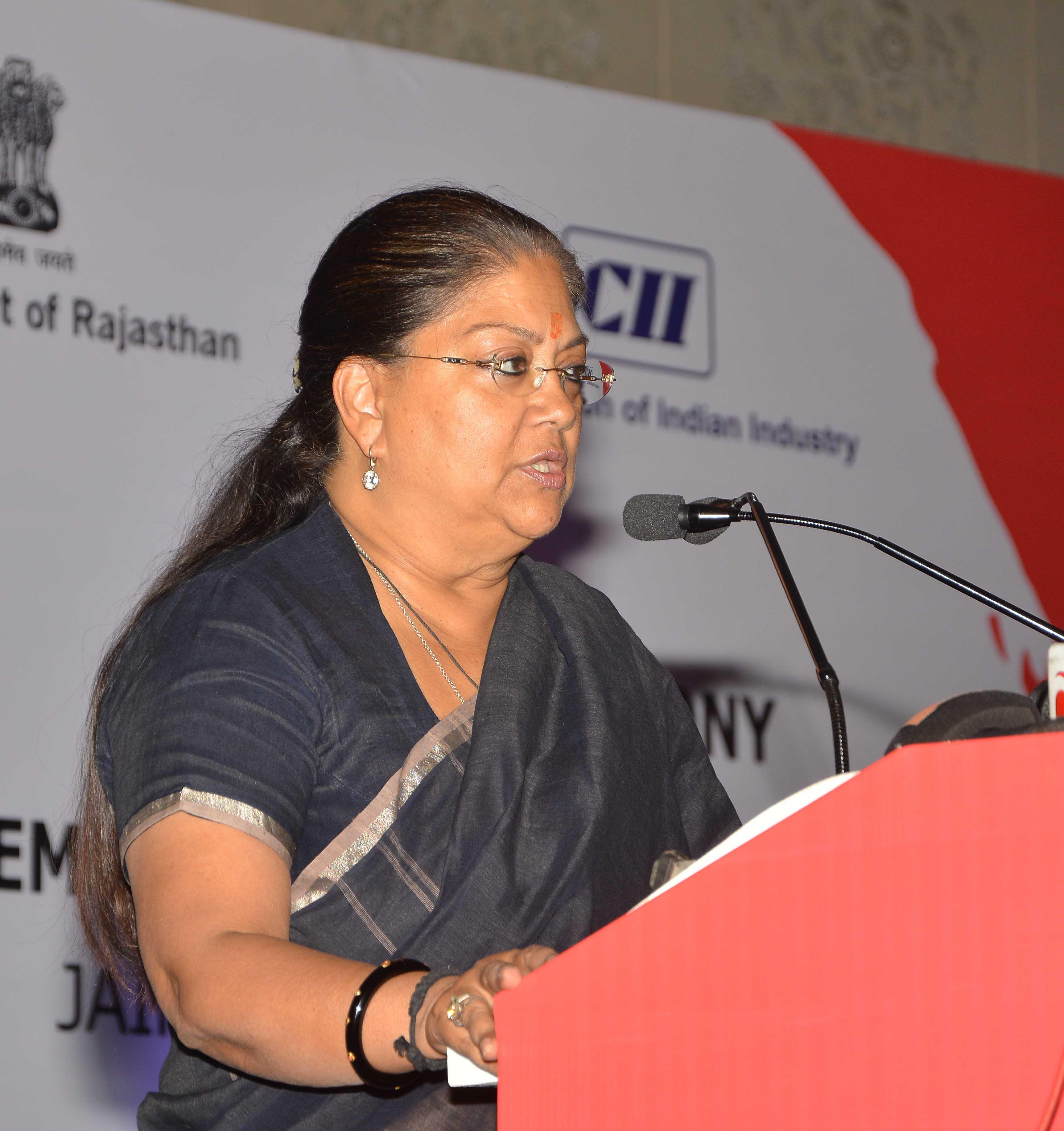 Vasundhara Raje - Rajasthan team doing hard work