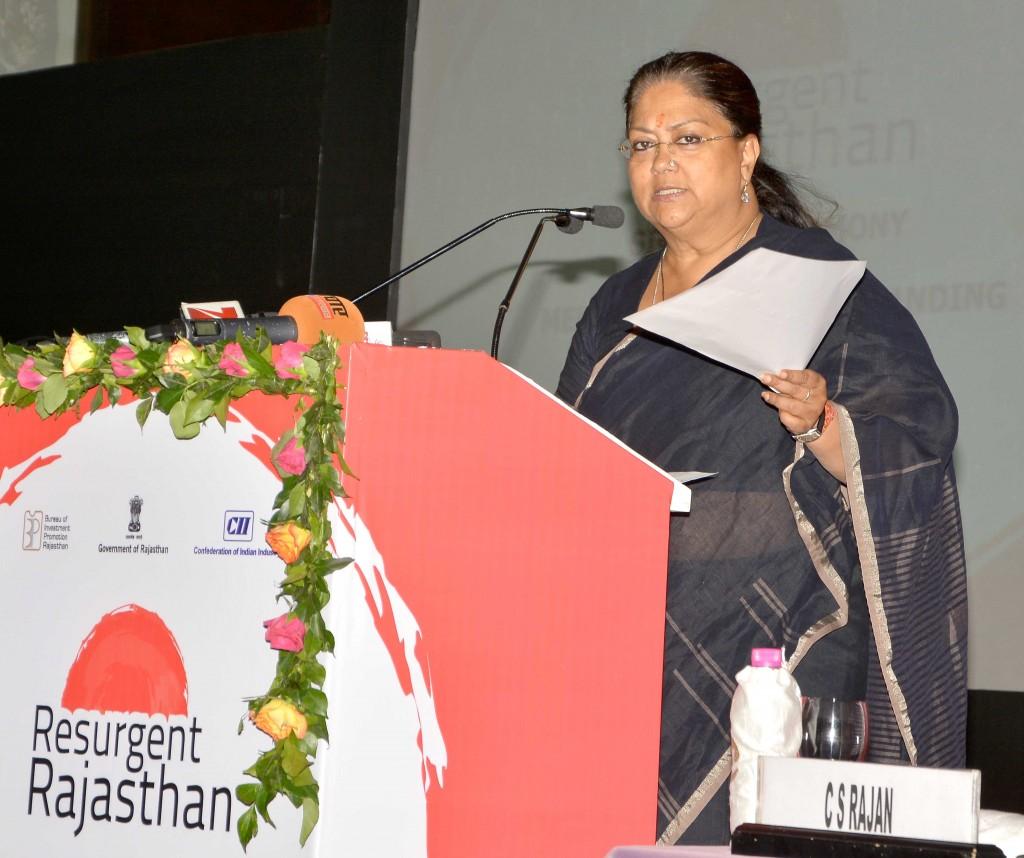 Vasundhara Raje - Rajasthan team doing hard work, resurgent rajasthan 19