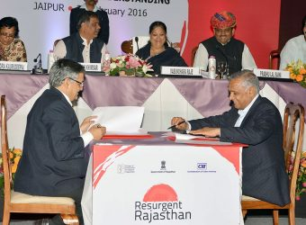 Rajasthan Government Signs MoUs