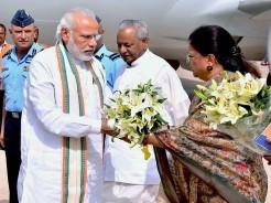 PM modi and CM Vasundhara Raje