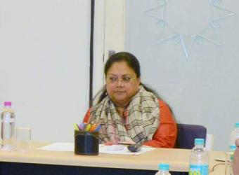 vasundhara raje- Collector SP conference