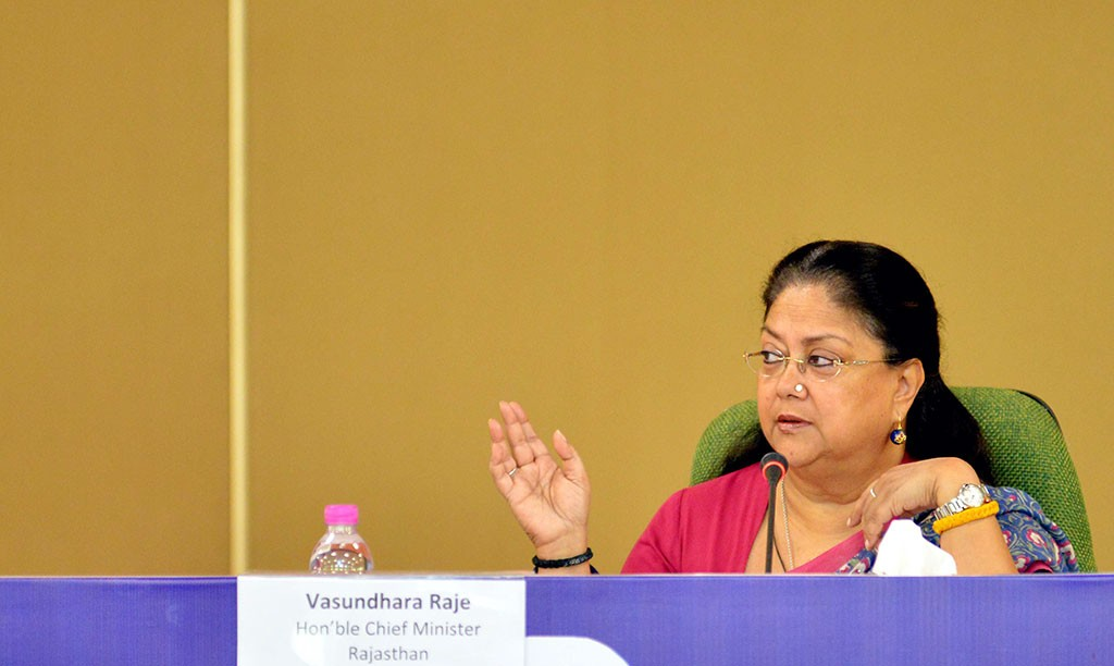 vasundhara raje collector-sp conference-mjsa