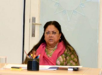 Vasundhara Raje - Mewat, Dang and to plan the development of infrastructure in Magra