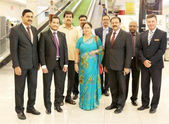 Dubai Smart City in Jaipur showed interest in the development of Smart Infrastructure