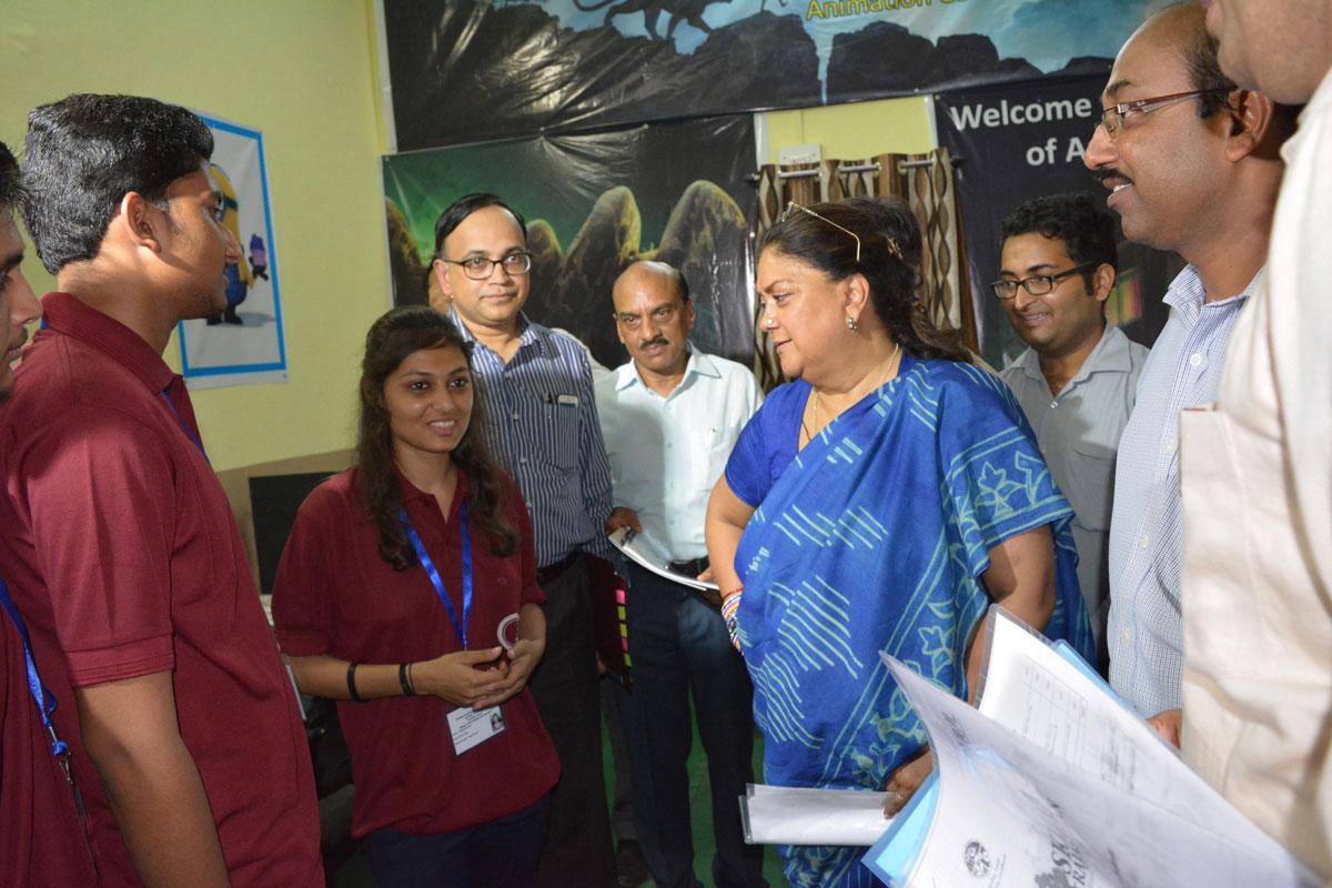 Vasundhara Raje at Jhalawar