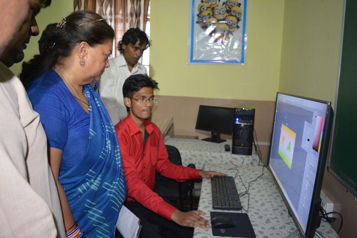 Vasundhara Raje visit Jhalawar