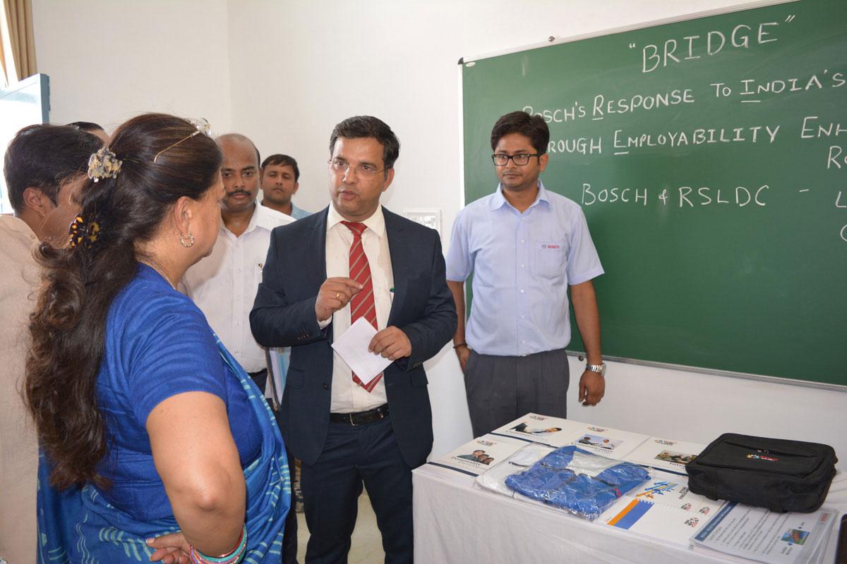 Vasundhara Raje at Jhalawar ITI