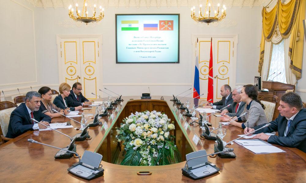 Vasundhara Raje Russia Visit Day 2
