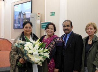 Vasundhara Raje Russia visit