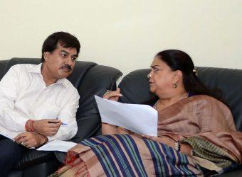 CM Vasundhara Raje - Hingonia Gaushala