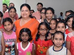 vasundhara raje rakhi celebration