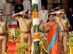 CM vasundhara raje Independence Day 2016