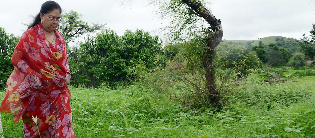 vasundhara raje dungarpur day2 slide1