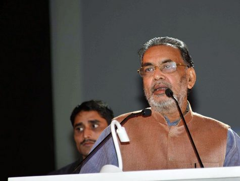 union minister radha mohan singh at gramDSC_5527
