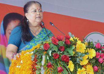 cm speech at sikar 3 years of suraaj AKS_8832