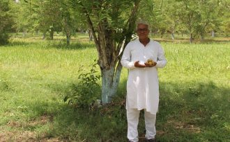 बारां जिले की मांगरोल पंचायत समिति के ग्राम बालोद निवासी प्रेमशंकर गालव ने जैविक आंवला उत्पादन कर प्रसंस्करण उद्योग को संचालित कर किसानों के लिए एक नजीर पेश की है। बकौल गालव उन्होंने पहली बार वर्ष 2001 में आंवला के पौधे लगाए थे।