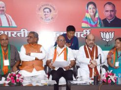 cm-meeting-amit-shah-at-bjp-office-rajasthan-with-ministers-hp-slide