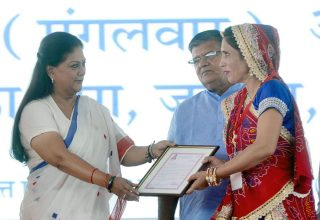 vasundhara raje launch inauguration bhamashah digital family yojana CMP_5199